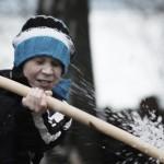 Schnee-Schlacht
