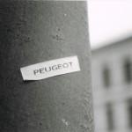Ein Peugeot in Prag